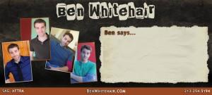 Ben Whitehair Commercial Mailer - Back