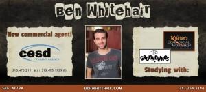 Ben Whitehair Commercial Mailer - Front