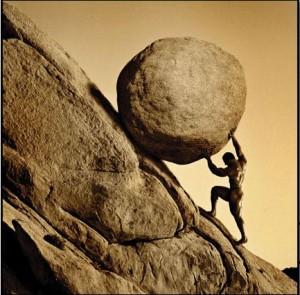 Pushing Rock Up Hill